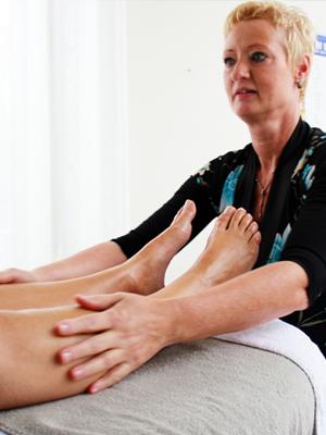 Ontspannende massage door Margriet Sap