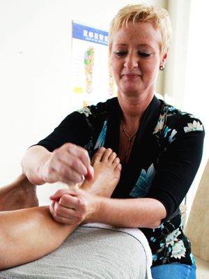 Chinese voetreflex technieken door Margriet Sap uit Rotterdam